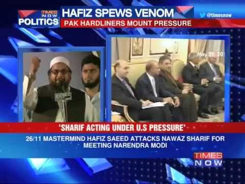 Saeed attacks Sharif for meeting Modi