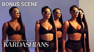 Kim Kardashian's Body Doubles Wear Masks Of Her Face | KUWTK Bonus Scene | E!