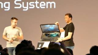 Acer Predator 21X 21-inch Gaming Laptop official presentation