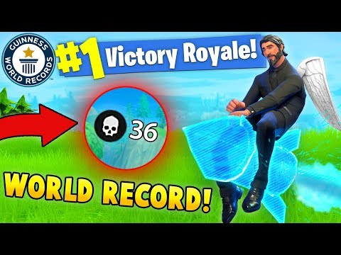 36 KILLS SOLO WORLD RECORD! (Fortnite Solo Squads FAILS & WINS #6)