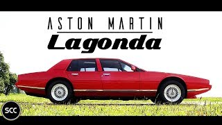 ASTON MARTIN LAGONDA 1984 - Smooth test drive in top gear |  SCC TV
