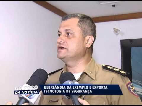 Comando das Polícias Civil, Militar e Secretaria de Segurança do Estado de Goiás, visitam Uberlândia