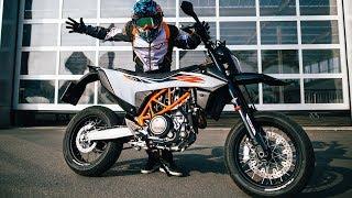 SUPERMOTO with KTM 690 SMC R I RokON vlog #83