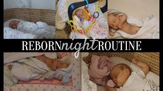 NEWBORN REBORN CLARA'S NIGHT ROUTINE | Simply Reborns