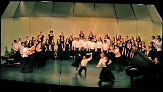 """Stomp Your Foot"" UCLA University Chorus, Rebecca Lord"