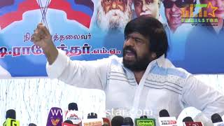 T Rajendar Press Meet Regards Sterlite and Cauvery Issue