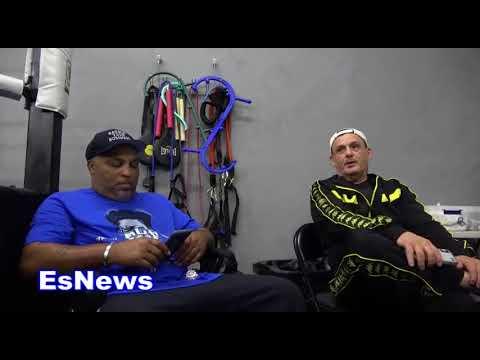 buddy mcgirt thinks rios vs garcia is a big mismatch EsNews Boxing