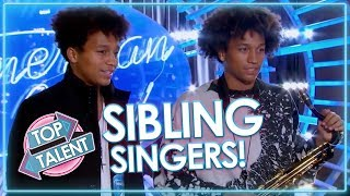 Download Lagu SENSATIONAL SIBLING SINGERS! Got Talent, X Factor and Idols | Top Talent Gratis STAFABAND
