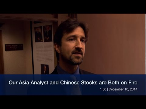 Our Asia Analyst and Chinese Stocks are Both on Fire