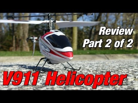 WLTOYS V911 Helicopter Review Part 2 of 2: Flight Testing and Final Thoughts