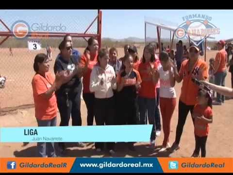 Porra de la Liga Juan Navarrete del Torneo de Béisbol Infantil Formando Ganadores
