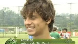 Rodrigo Caio Na Base do São Paulo Em 2010