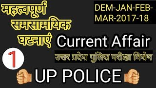 Current affairs-PART-1[UP POLICE]