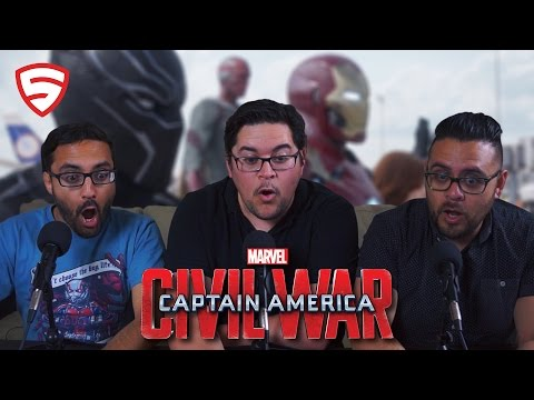 Marvel's Captain America: Civil War - Big Game Spot Review!
