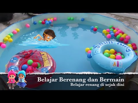 Kolam Renang Mainan Anak Kecil Dan Bayi - Baby Splash And Play Pool Set video