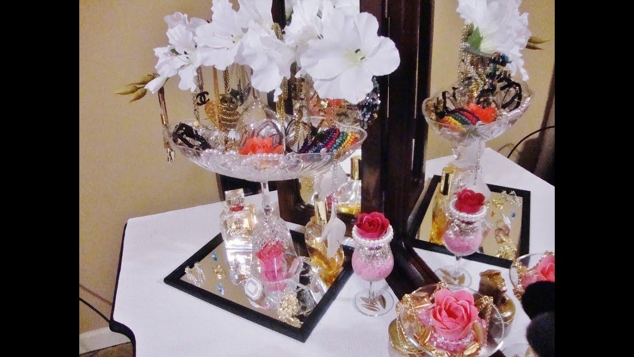 Diy Vanity Organizer Decoration Jewelry Holder Organizer