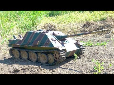 RC ADVENTURES - Jagdpanther Tank Destroyer On Patrol (Radio Controlled)