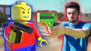 LEGO meets Minecraft 7 - Lego Wars Animation Movie!!! (Minecraft Animation)