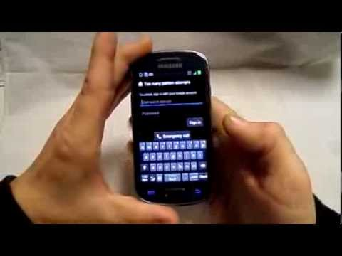 How To Remove Pattern/password Lock from Samsung Galaxy s3 mini