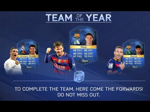 Fifa 16 Insane TOTY Forwards Pack Opening (OMG)