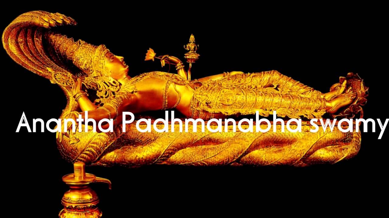 Padmanabhaswamy Temple Gold Latest News Lord Vishnu in Gold Anantha