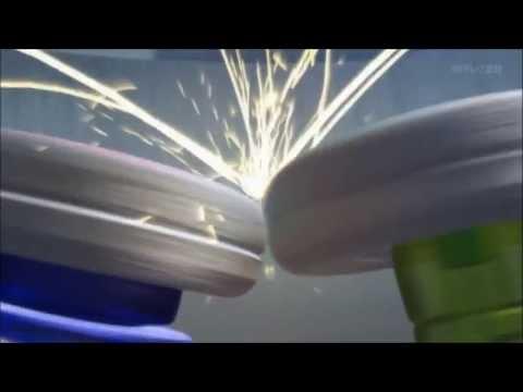 Beyblade Shogun Steel: Orochi Leviathan (Kite) v.s Salamander Ifraid (Zero) AMV.