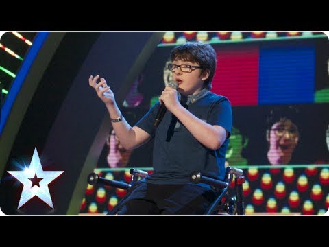 Jack Carroll with his self scripted stand up comedy | Semi-Final 2 | Britain's Got Talent 2013