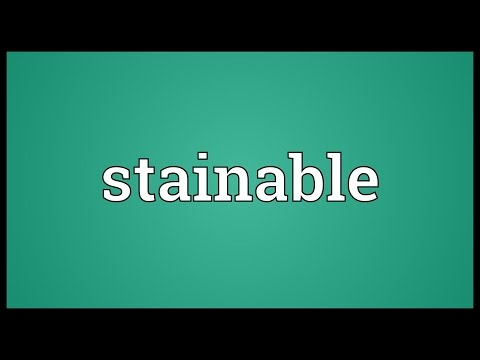 Header of stainable
