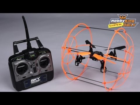 HobbyKing Super Daily - Skywalker Caged Quadcopter