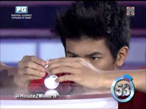 'Super Inggo' wins P250,000 on 'Minute To Win It'
