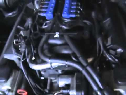 How to check for manifold leaks using a BMW E39 540i Sport with LPG conversion