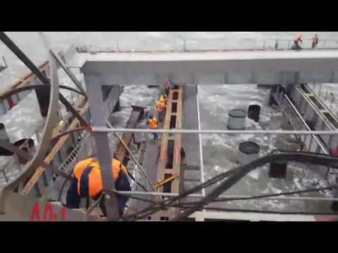 шторм 253 опора Крымского моста