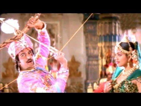 Annamayya Comedy Scenes - Saluva Narasimha Swayamvaram Scene - Mohan Babu, Roja, Kota Srinivasa Rao