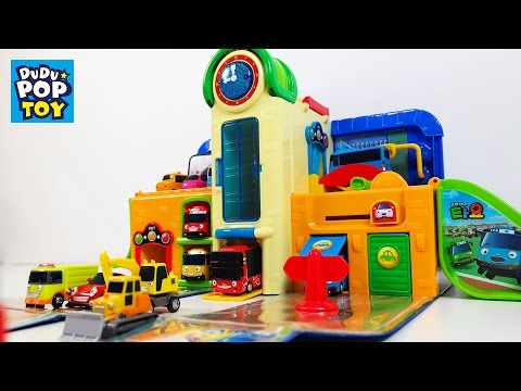 꼬마버스 타요 학교 플레이 세트 장난감 놀이 (Tayo The Little Bus school play set)