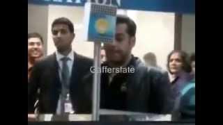 Salman Khan In Bangladesh(exclusive video)