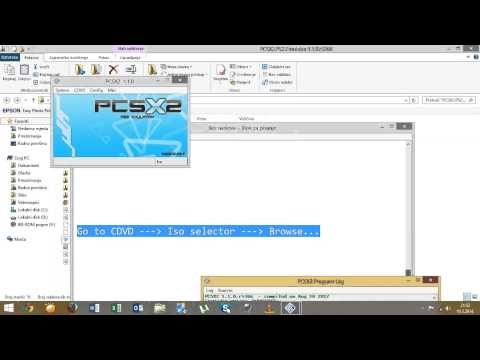 How to install and play games on Pcsx2