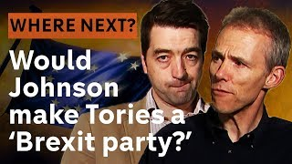 Would Boris Johnson turn the Conservatives into a 'Brexit party?'