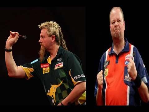 Premier League Of Darts 2013 - Week 14 - Whitlock VS van Barneveld
