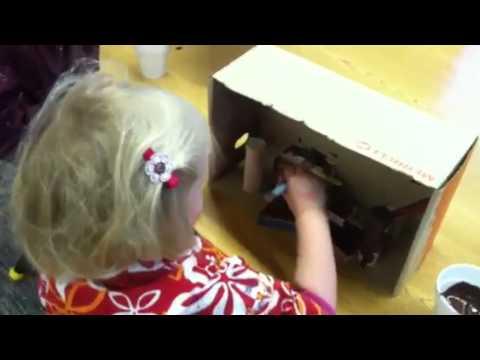 Preschool Artists at Riverstone International School March 2014 - 03/18/2014