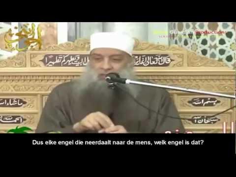 Egyptische Sheikh Abu Ishak Al Heweny Wordt Onderbroken Tijdens Een Lezing Door Een Kind video
