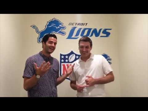 Impressions from Lions camp with Sports Illustrated's Chris Burke