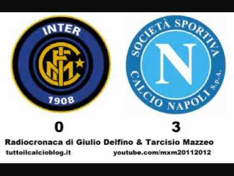 INTER-NAPOLI 0-3 – Radiocronaca di Giulio Delfino & Tarcisio Mazzeo (1/10/2011) da Radiouno RAI