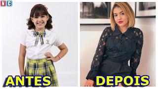 Carrossel Antes e Depois com idades atuais dos atores em 2019