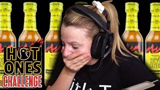 Hot Ones Challenge: The Last Dab MAKES ME CRY