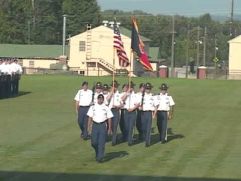 Spc. Ian C. Wolfe, Turning Blue and Graduation 8/23-24/2012