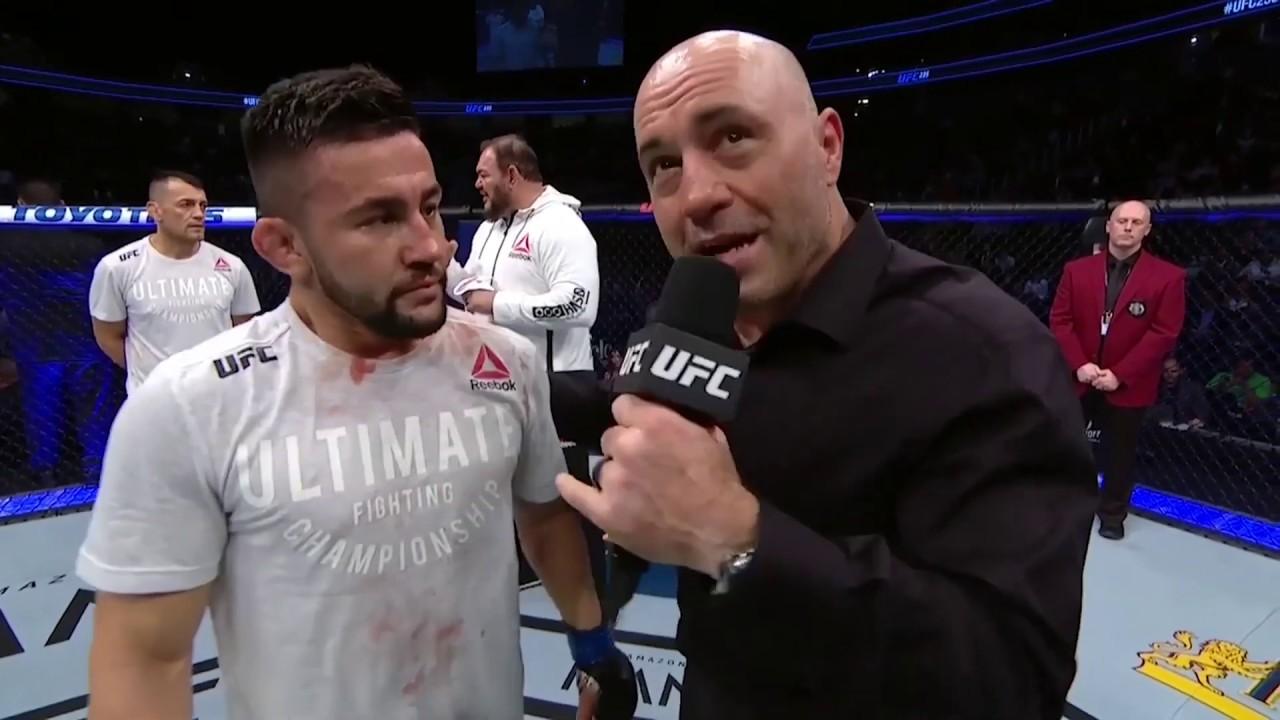 UFC 235: Педро Муньоз - Слова после боя