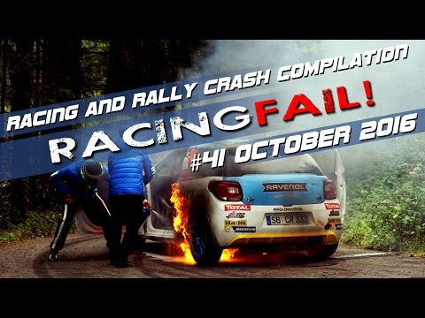 Racing and Rally Crash Compilation Week 41 September 2016