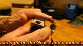 Samsung Gear 2 Gold Brown Unboxing and Overview