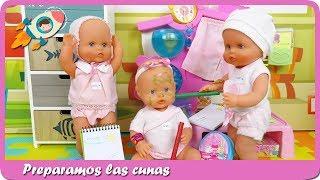 Rutina de clases, travesuras bebés trillizas Nenuco guardería segundo turno Historias Mundo Juguetes