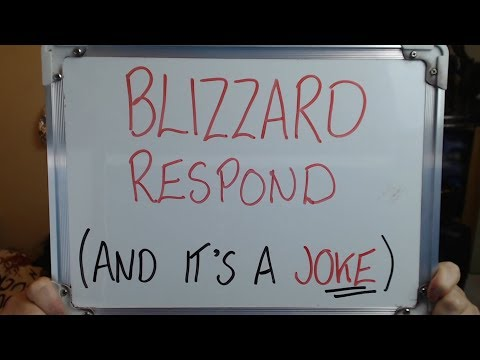 BLIZZARD RESPOND: And It's a Complete JOKE!!
